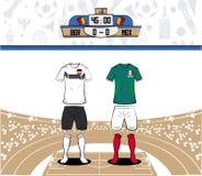 Futbolowa sport odzież Russia 2018 Zdjęcia Stock