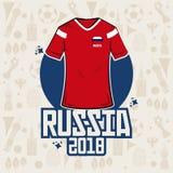Futbolowa sport odzież Russia 2018 Obraz Royalty Free