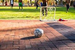Futbolowa sztuka Zdjęcie Royalty Free