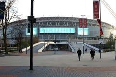 futbolowego królestwa London zapałczanego stadium zlany wembley fotografia stock