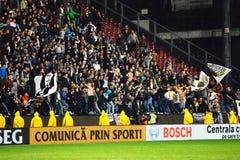 Futbolowi chuligany w stadium Fotografia Stock