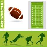 futbolowi projektów elementy ilustracja wektor