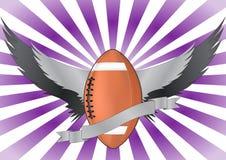 Futbolowi skrzydła Obrazy Stock