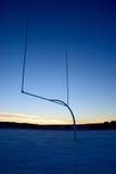 Futbolowi Uprights Obraz Stock