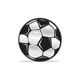 Futbolowy balowy symbol Obrazy Stock