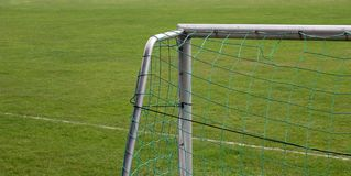 futbolowy cel Obrazy Stock