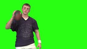 Futbolowy facet zbiory wideo