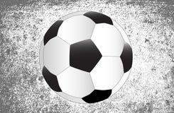 Futbolowy grunge tło ilustracji