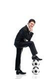 Futbolowy kierownik Zdjęcia Royalty Free