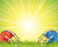 futbolowy plakat Zdjęcia Stock