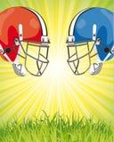 futbolowy plakat Zdjęcie Stock