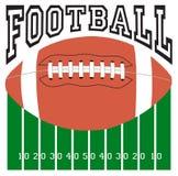 Futbolowy sporta logo Zdjęcia Stock