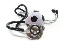 futbolowy stetoskop Zdjęcia Royalty Free