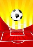 Futbolowy tło Obraz Stock