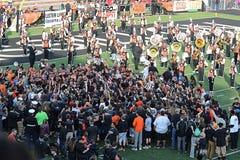 Futbolowy tłum 5 Zdjęcia Stock