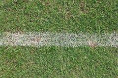 Futbolowy trawy tło Obrazy Royalty Free