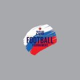 2018 Futbolowych mistrzostw symboli/lów Obraz Stock