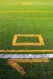Futbolu amerykańskiego jard Zdjęcia Royalty Free