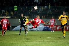 Futbolu dopasowanie Zdjęcie Stock