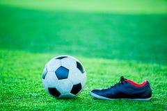 Futbolu i sporta buty Zdjęcia Royalty Free