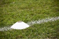 Futbolu rożek Zdjęcia Royalty Free
