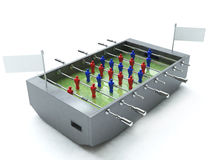 futbolu stół Ilustracji