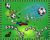 Futebol Fotos de Stock