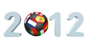 Futebol 2012 Fotografia de Stock