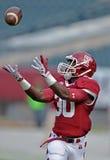 Futebol 2012 do NCAA - templo de USF @ Fotografia de Stock Royalty Free