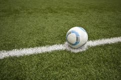Futebol abstrato Foto de Stock Royalty Free