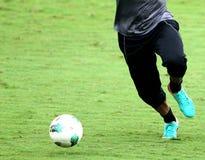 Futebol acton Foto de Stock
