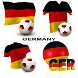 Futebol alemão Imagens de Stock