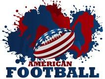 Futebol americano ilustração royalty free