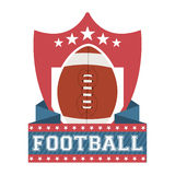 Futebol americano Fotos de Stock