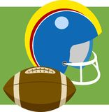 Futebol americano Foto de Stock