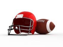 Futebol americano. Imagem de Stock