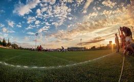 Futebol americano Foto de Stock Royalty Free
