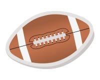 Futebol americano - bola Fotos de Stock Royalty Free