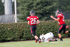Futebol americano de High School Fotos de Stock