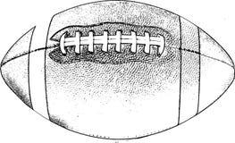 Futebol americano retro Imagens de Stock