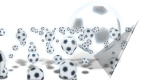 Futebol - animação ilustração do vetor