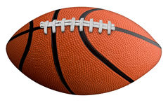 Futebol-basquetebol fotografia de stock