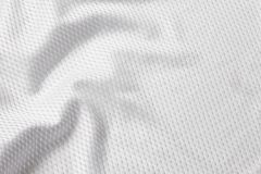 Futebol branco Jersey Imagem de Stock