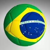 Futebol Brasil 2014 do futebol Fotos de Stock
