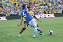 Futebol brasileiro Filipe durante Copa América Centenario Foto de Stock Royalty Free