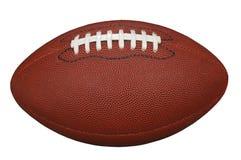 Futebol com trajeto de grampeamento fotografia de stock royalty free