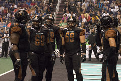 Futebol da arena do Arizona Rattlers Fotografia de Stock