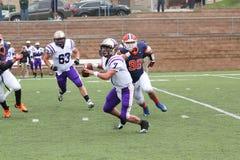 Futebol da faculdade Fotografia de Stock