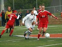 Futebol da faculdade de Womenâs Imagem de Stock