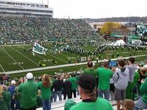 Futebol da faculdade: Marshall University contra FAU Imagens de Stock Royalty Free